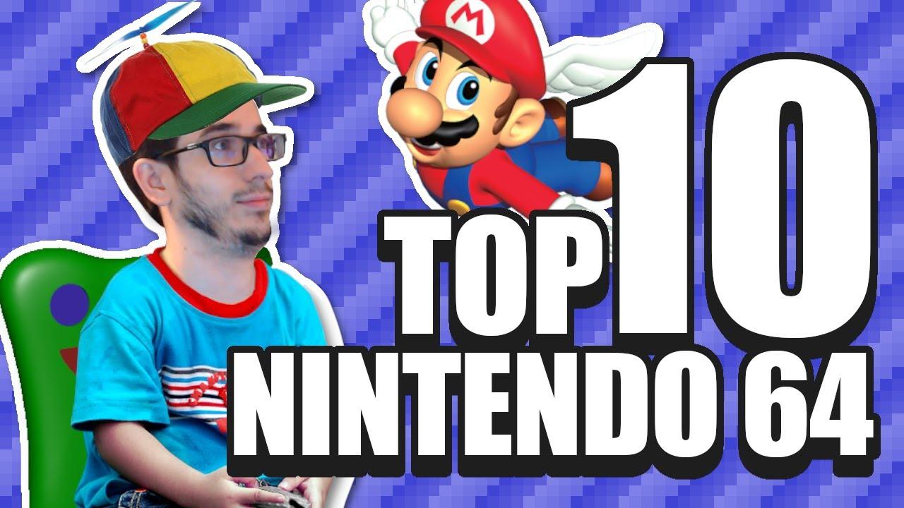 Mi Top 10 Nintendo 64 - Leyendas & Videojuegos