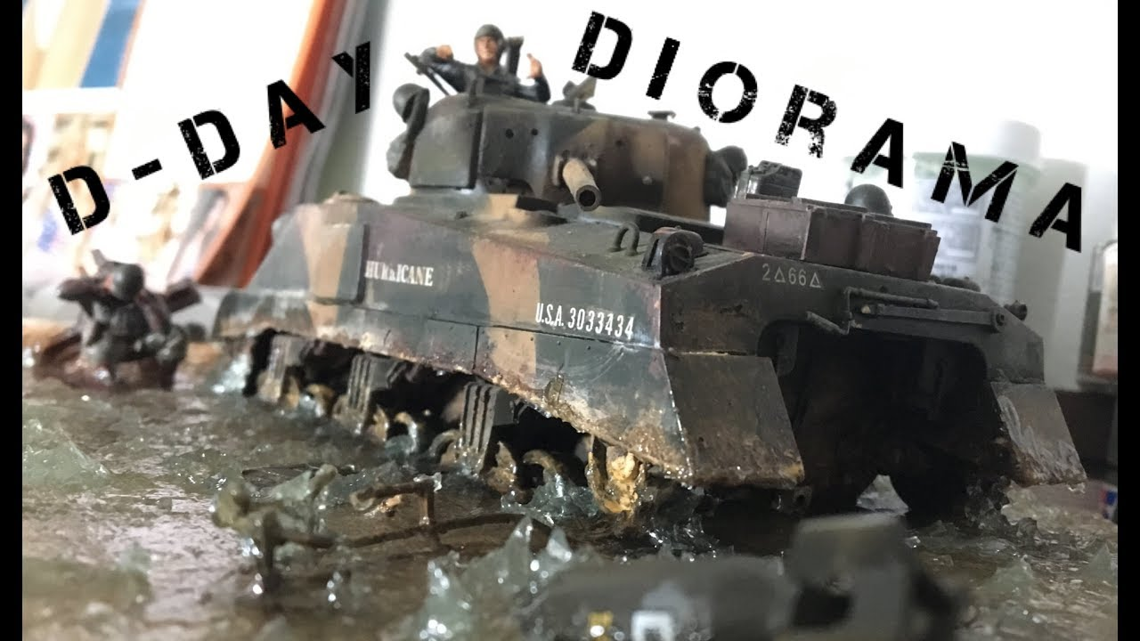 The D-Day Diorama