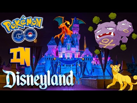 Pokemon Go in Disneyland #2! HAPPIEST PLACE ON EARTH! But is it for Pokemon Too?