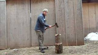 Homestead Series How To Cut And Split Firewood