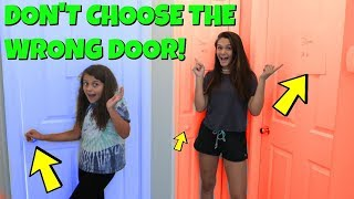 DON'T Choose the WRONG Mystery Door! | Emma and Ellie