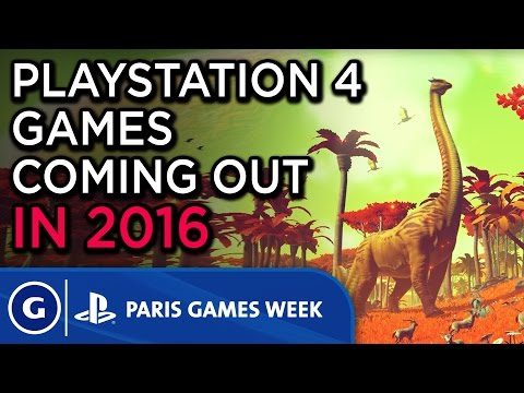 ps4 games coming in 2016 paris games week 2015 sony post show highlight youtube. Black Bedroom Furniture Sets. Home Design Ideas