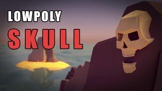Blender Tutorial - The Low Poly Skull