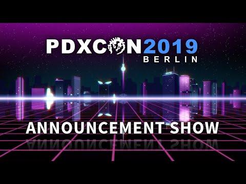PDXCON2019 - Announcement Show