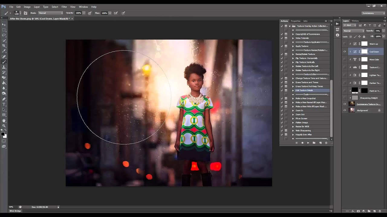 How to apply and edit texture overlays in Photoshop and ...