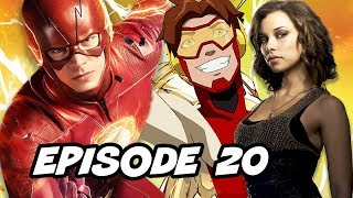 The Flash 4x20 Episode Nora Allen - TOP 10 and Easter Eggs