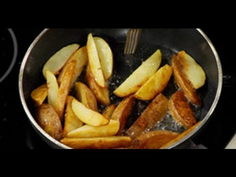 Как жарить картошку по деревенски