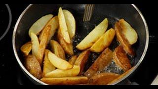 Как правильно жарить картошку по-деревенски (инструкция) /  Илья Лазерсон / Обед безбрачия
