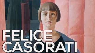 Felice Casorati: A collection of 81 works (HD)