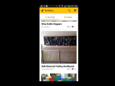 Instructables App Jswaggerty Youtube