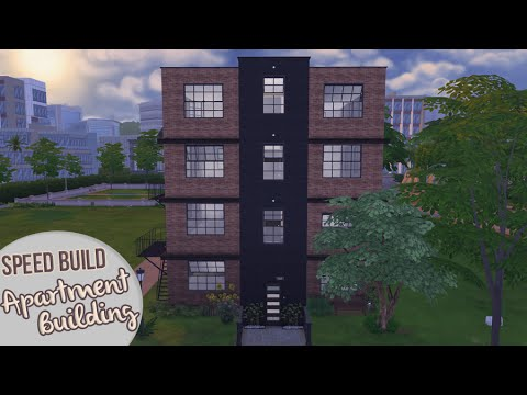 Apartment Building The Sims 4 Sd Build