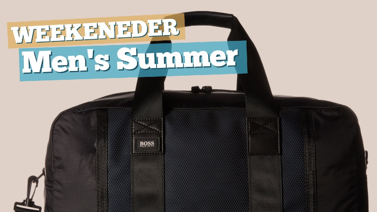 1c6275a8fa Men's Summer Shopping List // Weekeneder Bags - YouTube