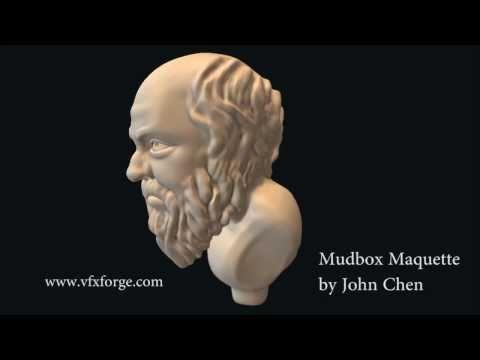 Socrates - Mudbox Maquette