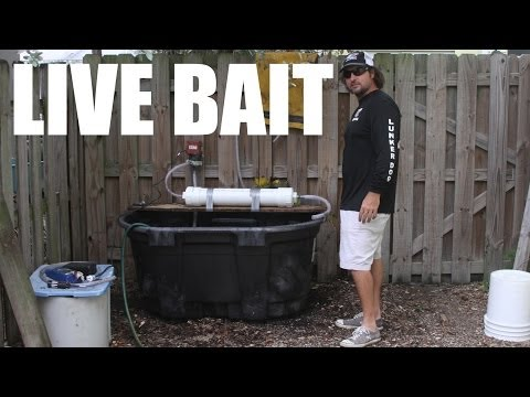 100 Gallon Live Fishing Bait Tank Build Video - Supreme Live Well from YouTube · High Definition · Duration:  14 minutes 55 seconds  · 113,000+ views · uploaded on 6/4/2014 · uploaded by themulletrun