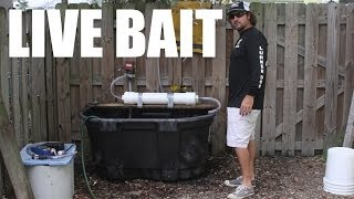 100 Gallon Live Fishing Bait Tank Build Video - Supreme Live Well