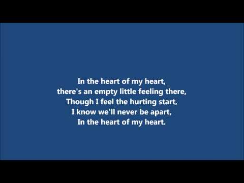 In Heart of my heart  Bellamy Brothers