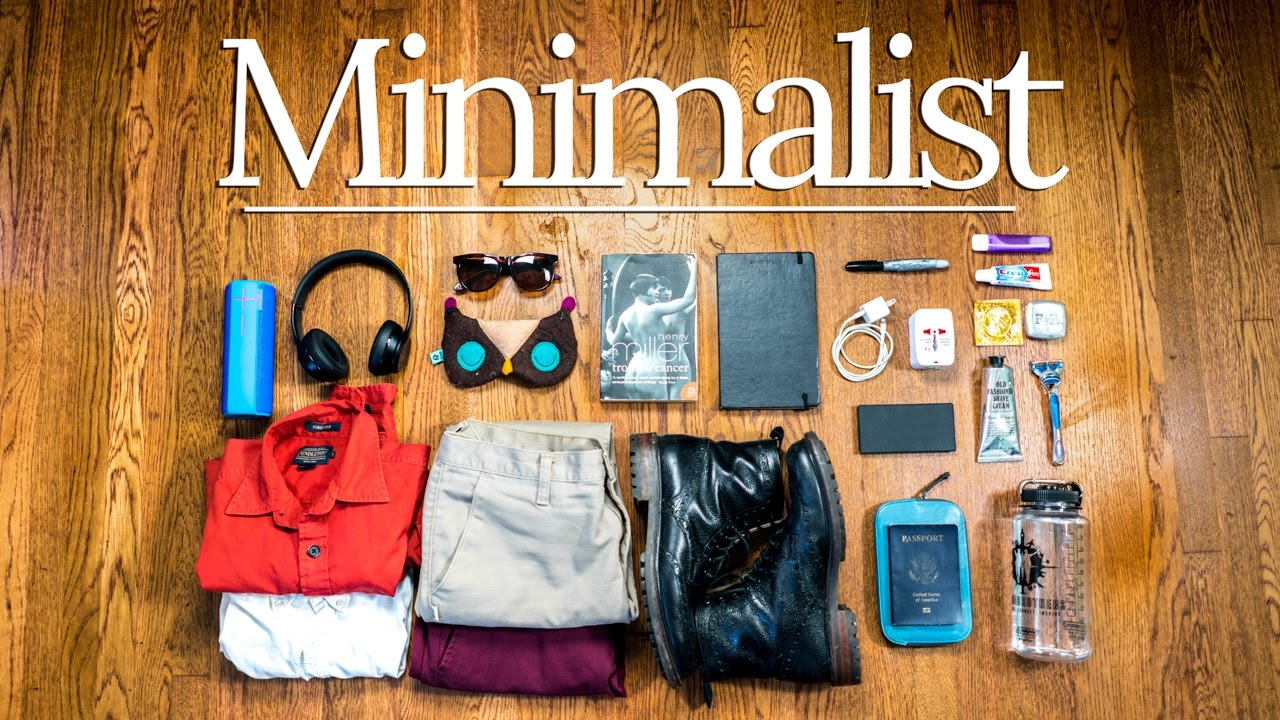Minimalist diy travel essentials pro packing tips youtube youtube premium solutioingenieria Gallery
