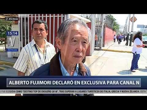 Habla Fujimori en exclusiva a CanalN