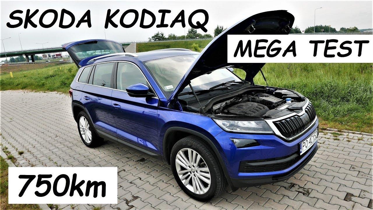 SKODA KODIAQ 2.0 TSI - MEGA TEST PL muzyk jeździ - YouTube