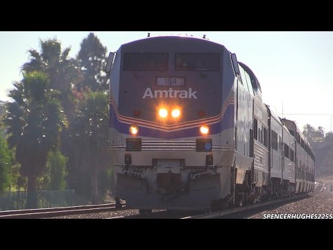 Amtrak Trains - WWII Pearl Harbor troop train 2014 + 3 BONUS SHOTS !!!