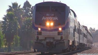 Amtrak Trains - WWII Pearl Harbor troop train 2014 + 3 BONUS SHOTS !!!