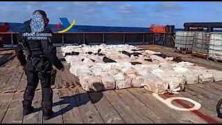Intervenidas 4t de cocaína y detenidas 28 personas en Galicia