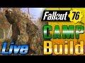 Fallout 76 Rock Concert C.A.M.P Build LIVE!