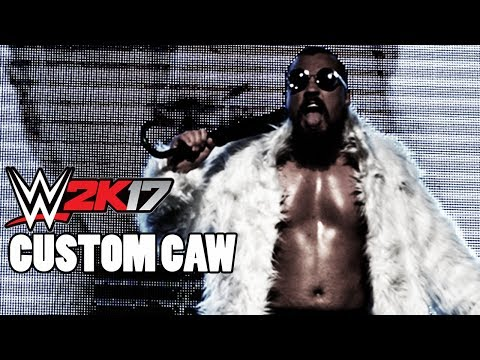 WWE 2K17 - MARTY SCURLL CUSTOM CAW