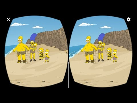 3D The Simpsons - Planet of the Couches VR - Virtual Reality for Google Cardboard and VR Box