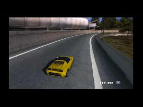 Burnout 1 Race Replay