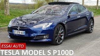 [ESSAI AUTO #18] Tesla Model S P100D (2018) : supersonique !