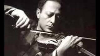 Jascha Heifetz plays Tchaikovsky Serenade Melancolique