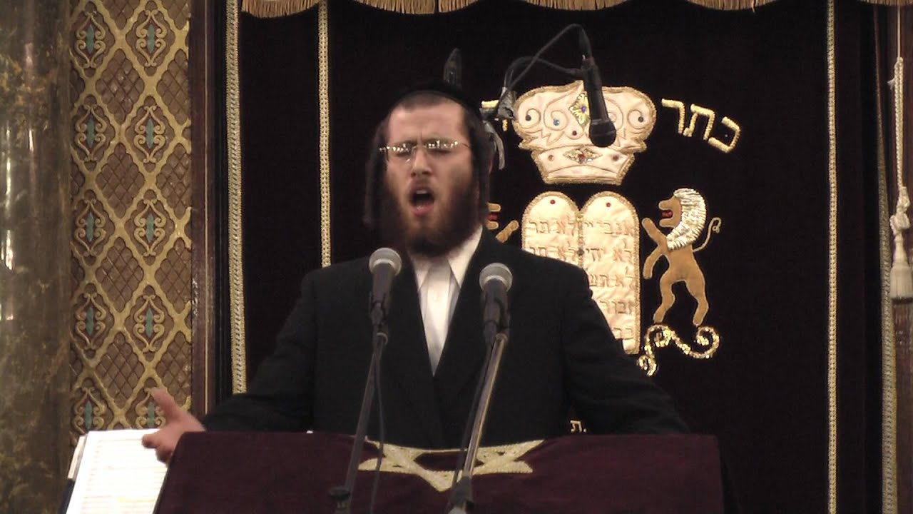 "Cantorial Concert: Ushi Blumenberg Singing ""V'lirushalayim Ircho"" (Watch in HD !!!) 14"