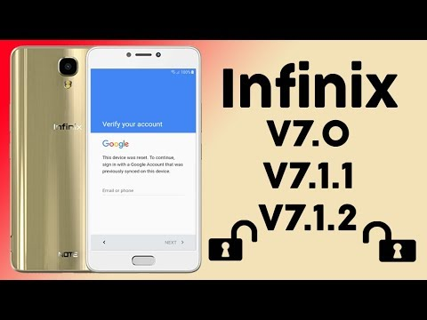 FRP 2018 ANY INFINIX ANDROID 7 0 BYPASS GOOGLE ACCOUNT LAST UPDATE
