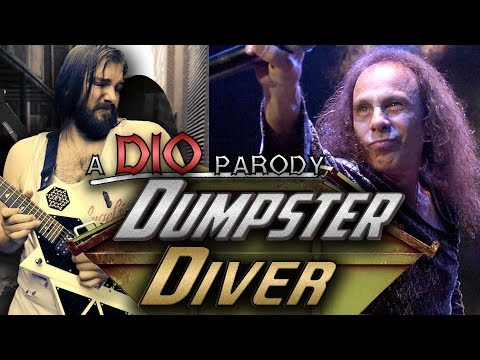 Dumpster Diver (Holy Diver Parody) feat. Samuraiguitarist | Mike The Music Snob