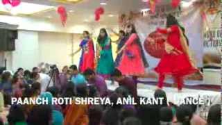 ANIL KANT - PAANCH ROTI, SHREYA KANT ( DANCE ) Jesus Feeds the Five Thousand..