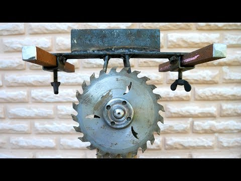 You Must See This Amazing DIY Invention for Angle Grinder