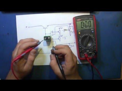 Особенность режима ограничения тока в лабораторном блоке питания.