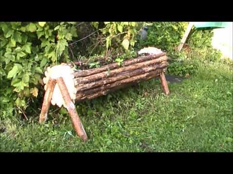 видео: Самодельная Клумба Своими Руками / Цветочные клумбы из дерева / sekretmastera