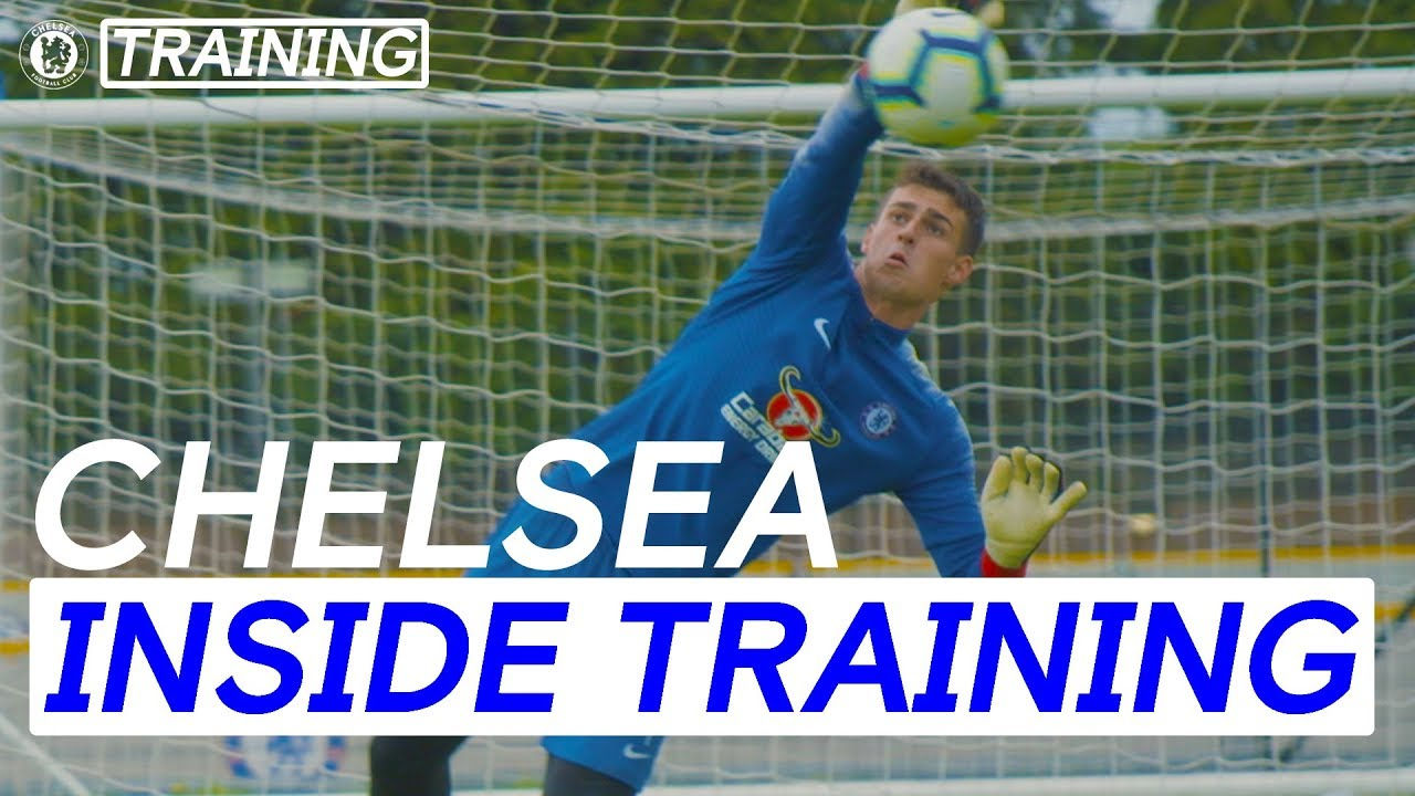 #Arrizabalaga's Incredible Saves In First Training Session As A Blue | Inside Training