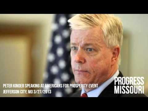 Peter Kinder Speaks to Americans For Prosperity
