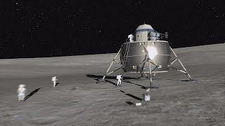 Un village sur la Lune ? - space