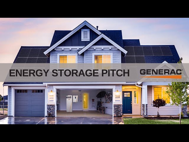 Energy Storage Pitch | Solar Installers to Clients | Generac Clean Energy & Soligent