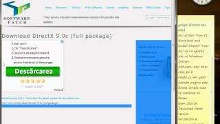 descarcare si instalare DirectX 9.0C