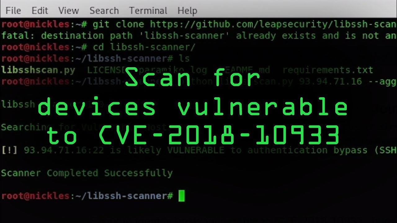 How to Locate & Exploit Devices Vulnerable to the Libssh