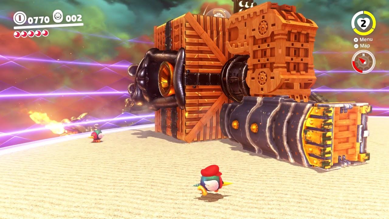Robobroode Bowser S Kingdom Super Mario Odyssey Boss Battle