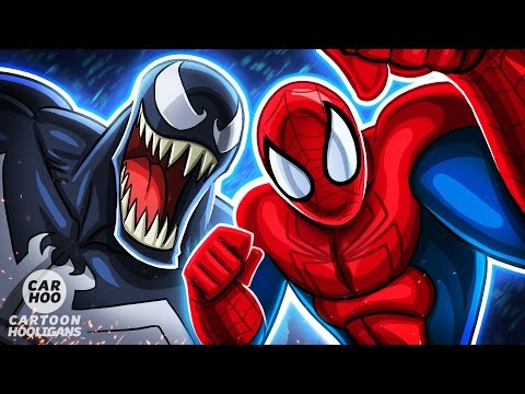 Thumbnail: SPIDERMAN vs VENOM in Kamen Rider Style【 Marvel Superheroes Parody 】