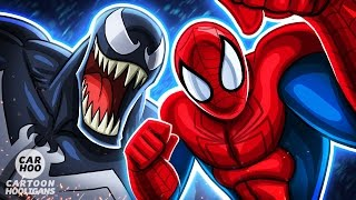 SPIDERMAN vs VENOM in Kamen Rider Style【 Marvel Superheroes Parody 】