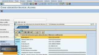 03 02.- Ubicaciones Técnicas - SAP PM Plant Mantenance (Mantenimiento de Planta)
