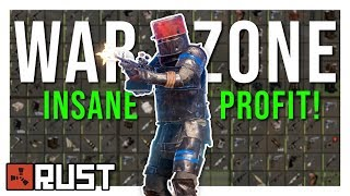 INSANE AIRDROP FIGHT Leads to a WARZONE - Rust PvP Highlights